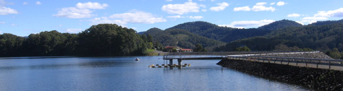 Experience the utter peace and quiet up at Karangi Dam in the Orara Valley