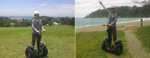 The Segway Tour offers nice coastal views in Coffs Harbour