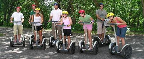 Segway Tours at Pacific Bay Resort Coffs Harbour