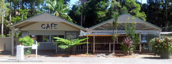 Boambee Creek Reserve Cafe and Kiosk at Sawtell is open 7 days